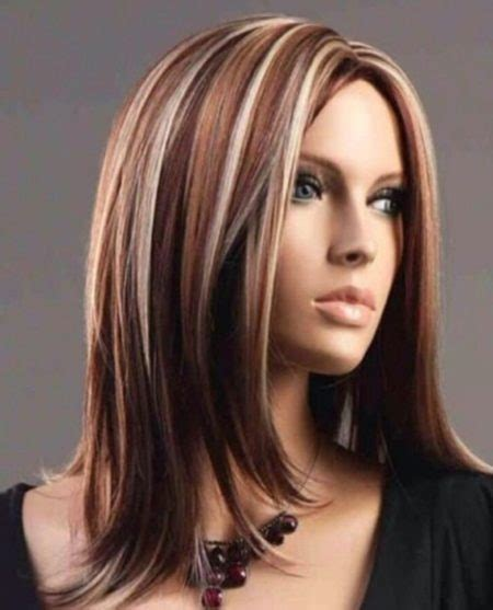 haircolor suitable for 40 woman brownish red hair with blonde highlights suitable for made