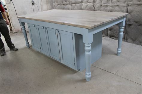 farm table kitchen island custom kitchen island from reclaimed oak ecustomfinishes
