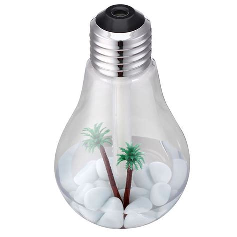 aromatheraphy humidifier medium bulb light bulb usb colorful humidifier air purifier diffuser