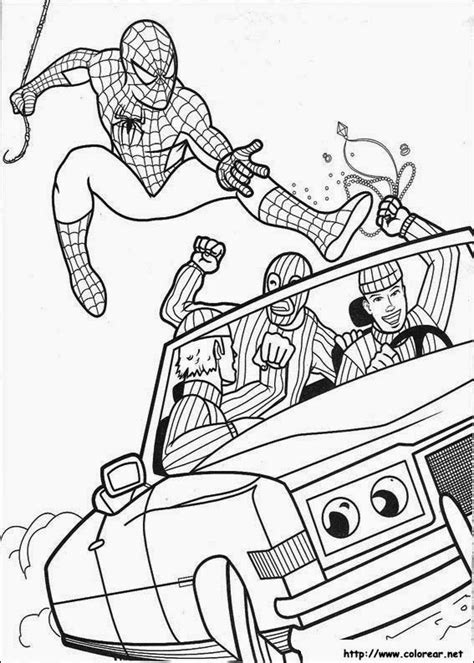 Desenhos do Homem Aranha para Colorir e Imprimir   Toda Atual