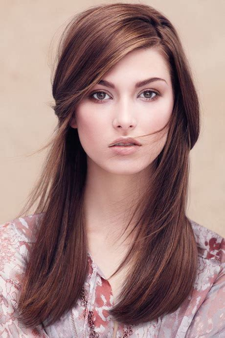ecaille hair trends for 2015 braune lange haare frisuren
