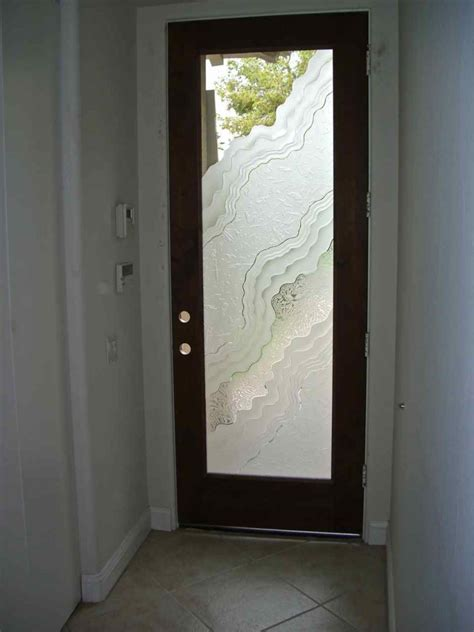 Exterior Glass Front Doors Etched Door Glass Sans Soucie Glass