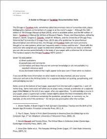 Chicago Essay Format by Chicago Documentation Style