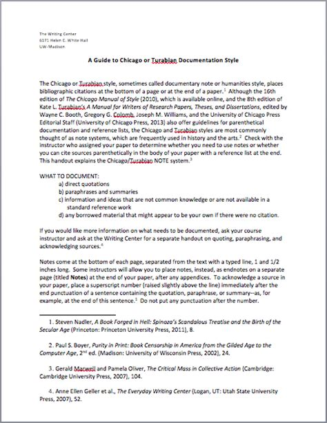 chicago format essay heading chicago style footnotes