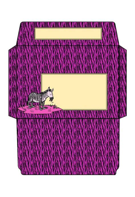 printable animal envelopes free printable animal envelope free printables