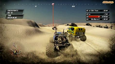 racing monster truck games fuel pc gameplay monster truck race hd 720p youtube