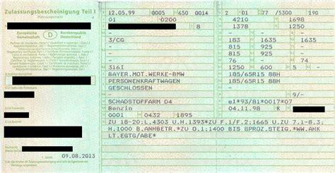Auto Abmelden Ohne Papiere by Fahrzeugschein Verloren So Bekommen Sie Ihn Wieder