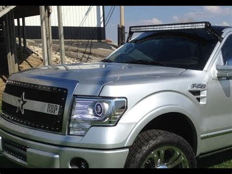 2005 f150 light bar addictive desert designs 50 led light bar high mount for