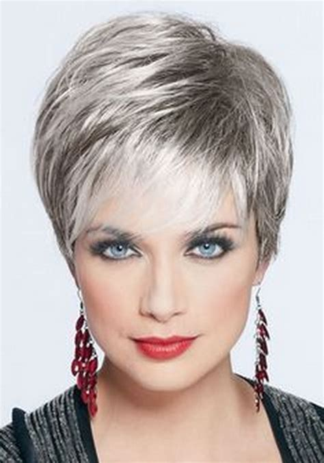 pictures of short hairstyles for over 60 with thin fine hair short haircuts for women over 60