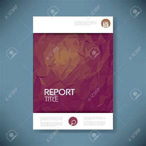 Free Report Cover Templates 6 Report Covers Free Psd Vector Eps Format