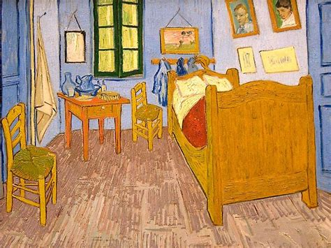 the bedroom van gogh painting paper dali what van gogh s bedroom needed