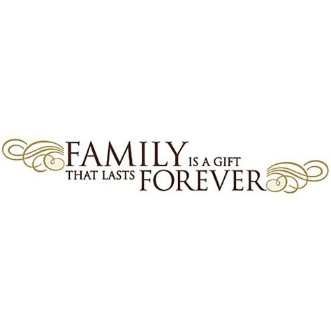 how to last forever in bed family is a gift that lasts forever vinyl wall decal set