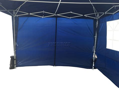 gazebo waterproof foxhunter waterproof 3x3m pop up gazebo marquee garden