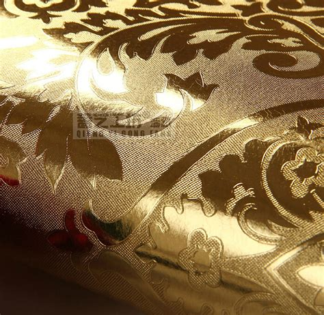 gold wallpaper sles aliexpress com buy european luxury gold foil wallpaper