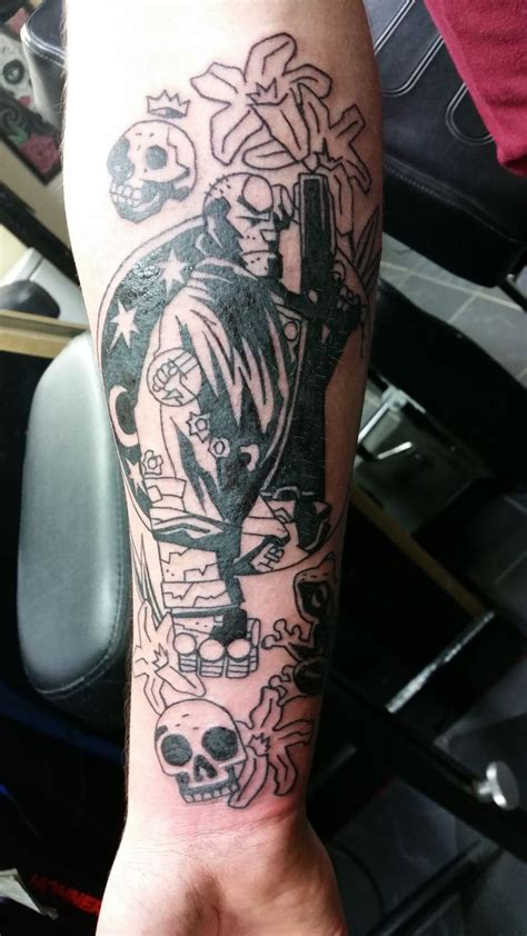 hellboy tattoo 30 best images on comics mike d antoni