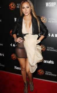 Cheetah Wardrobe Malfunction exposed dress by adrienne bailon fit and fashion