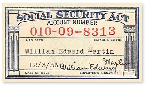 how to make social security card social security card