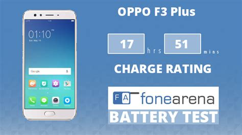 Charge Charger Oppo F3 oppo f3 plus battery test