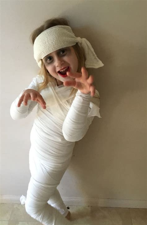 mummy costume disfraces de halloween  ninos