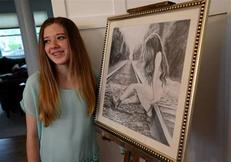 S Drawing Middle School by Lindenhurst Eighth Grader Turning Hobby Into Business