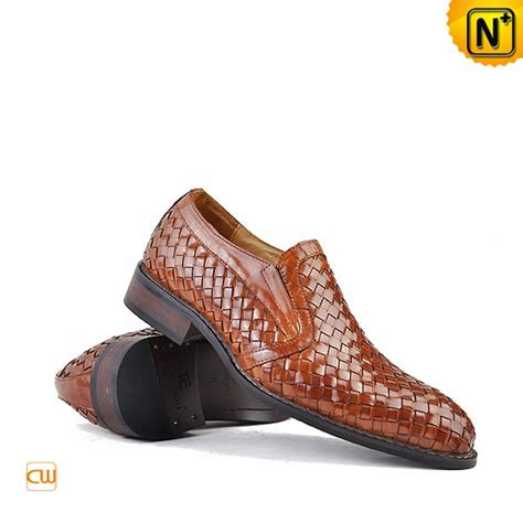 Handmade Shoes - handmade mens slip on dress shoes cw764105