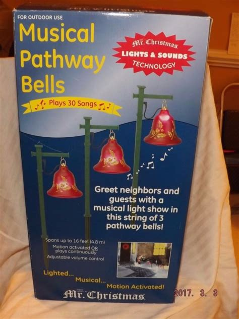 mr christmas bells of christmas brass lighted musical bells lighted bells shop collectibles daily