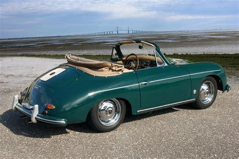 green porsche convertible 1958 porsche 356 a 1600 s convertible amelia island