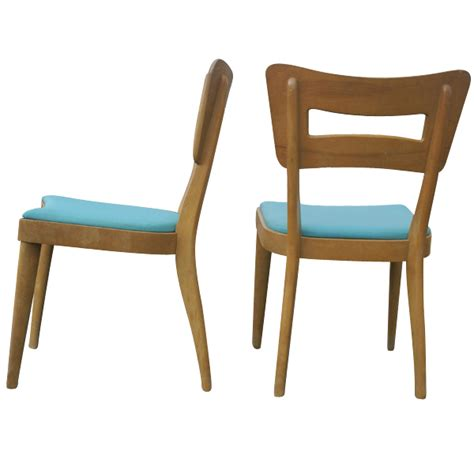 Heywood Wakefield Dining Chairs 2 Heywood Wakefield Side Dogbone Dining Chairs M154a 20 Mr7238 Ebay