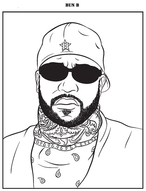 rap music coloring pages a tempered measured review of quot bun b s rap coloring and
