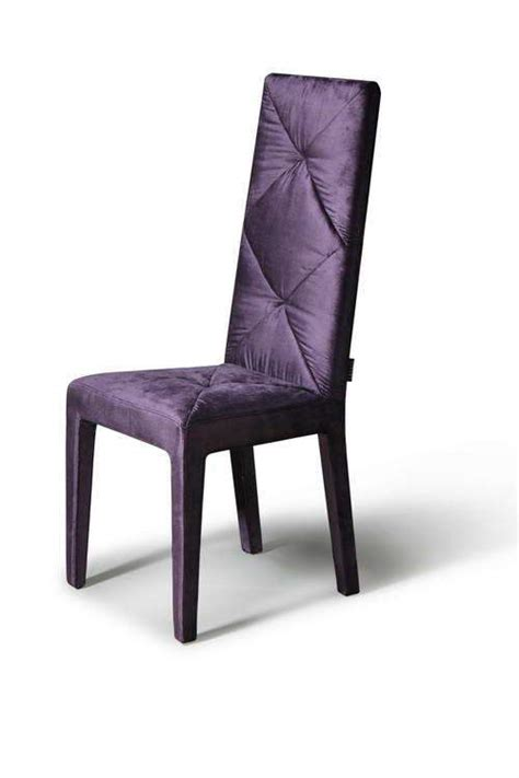Purple Dining Chairs Soft Silky Feel Purple Dining Chair With High Comfortable Back Jersey New Jersey Veva