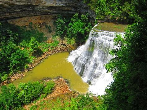 burgess falls picture of burgess falls state park