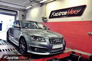 Audi A3 2 0 Tfsi Chiptuning by Chip Tuning Audi S3 8p 2 0 Tfsi 265 Km Kreator Mocy
