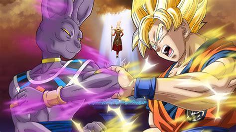 imagenes de goku la pelea de los dioses dragon ball z la batalla de los dioses peliculas de