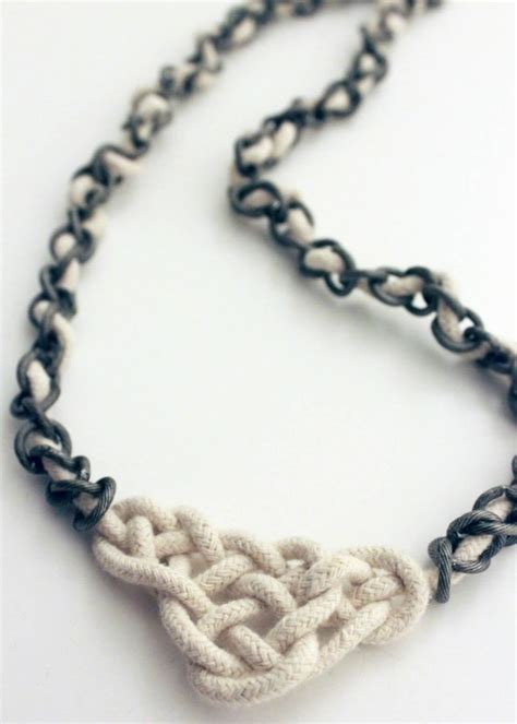 how to make celtic knot jewelry diy celtic knot necklace