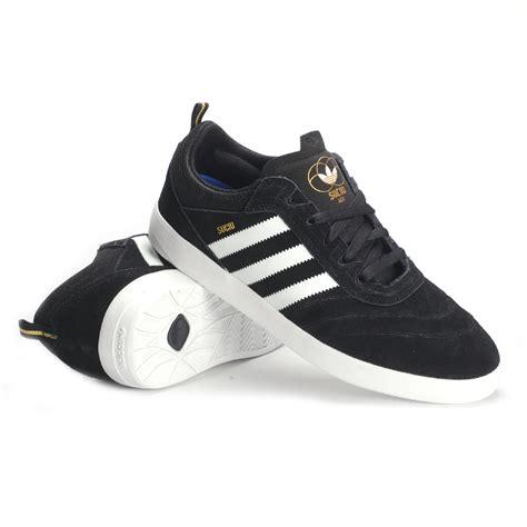 adidas suciu adv black white gold metallic s skate shoes
