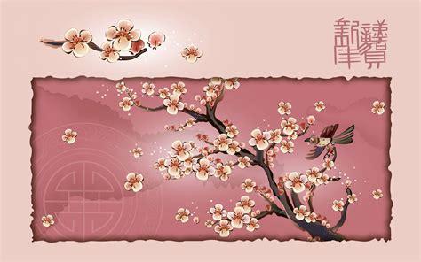 cny template 梅 壁紙 04284
