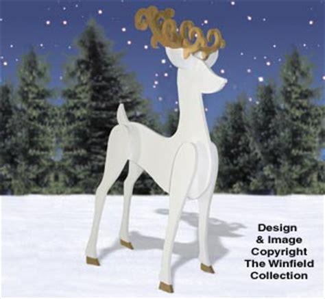 reindeer sleighs  shadow reindeer pattern