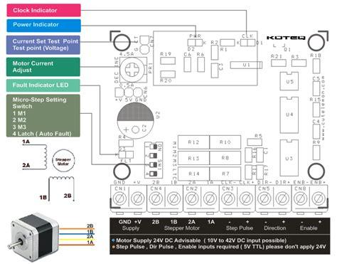 general 6 wire stepper motor wiring diagram 43 wiring