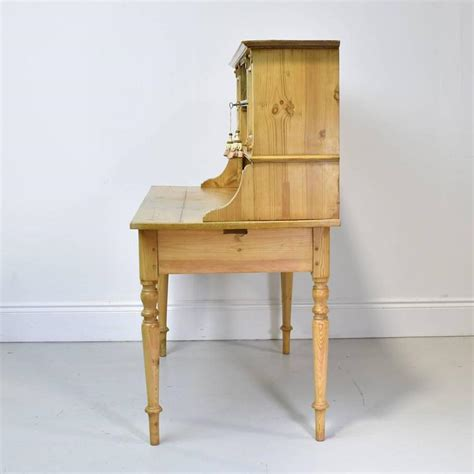 Antique Pine Writing Desk by 19th Century Antique European Pine Writing Table Or Desk