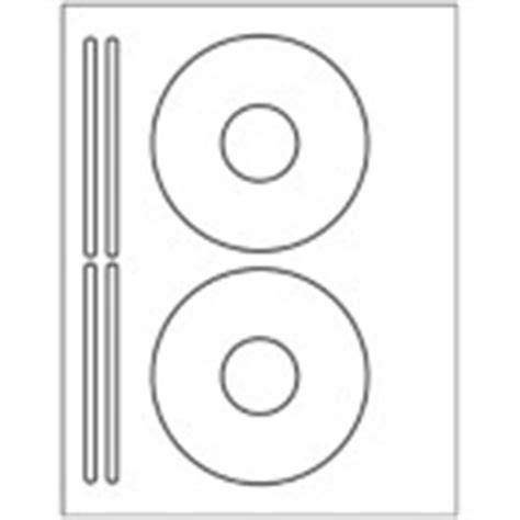 templates cd dvd labels 2 per sheet plus 4 spine labels