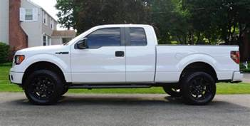 Truck Wheels Ford F150 Anyone Pics White Trucks W Black Rims Page 4