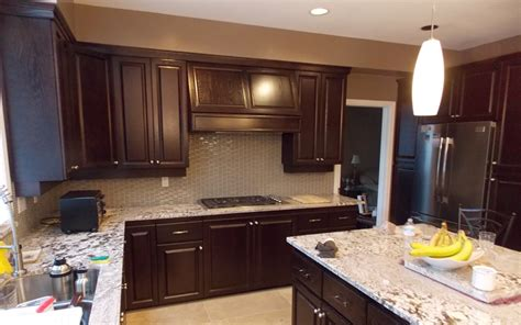 kitchen cabinet finishing kitchen cabinet refinishing vancouver 02 quotes