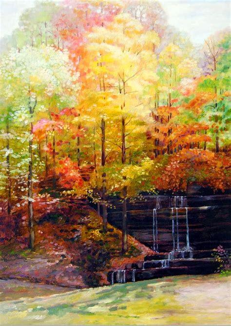imagenes de paisajes pintados al oleo im 225 genes arte pinturas bonitos paisajes pintados en 211 leo