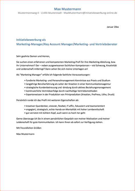 Anschreiben Bewerbung Muster Marketing 13 Initiativbewerbung Anschreiben Muster Sponsorshipletterr