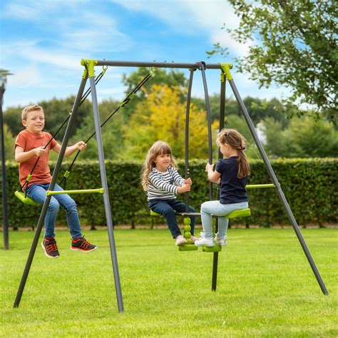 Swing In The by 2 Unit Swing And Seesaw Set Swings Uk