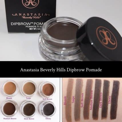 Beverlyhills Dipbrow Pomade beverly dipbrow swatches makeup beverly dipbrow