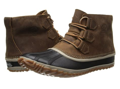 zappos womens boots sorel out n about leather womens boots