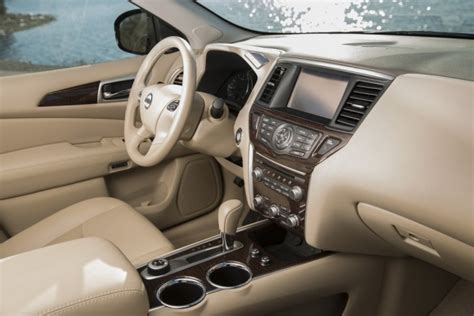 nissan pathfinder 2015 interior 2015 nissan pathfinder overview the wheel