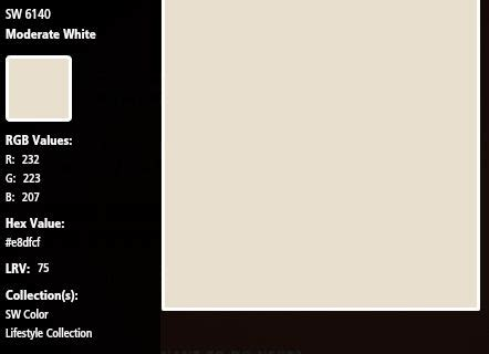 sherwin williams moderate white interior neutral sherwin williams moderate white sw6140 paint colors amador house