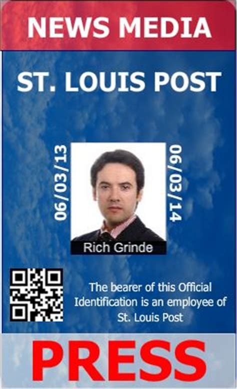 press id card template journalist id card templates